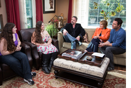 Dr. Edward Giaquinto featured on a epiosode of Home & Family to help two sisters lose weight